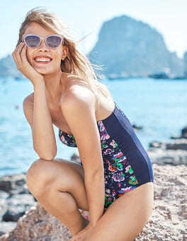 Amalfi Bandeau Swimsuit