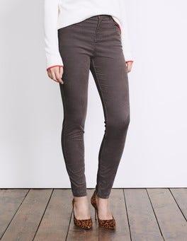 Pewter Velvet Soho Skinny Jeans