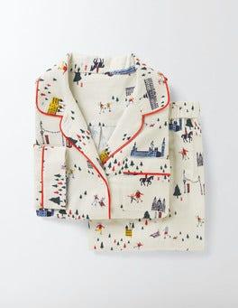 Ivory Wonderland Cosy Woven Pyjamas