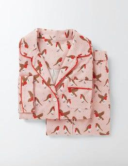 Milkshake Robins Cosy Woven Pyjamas