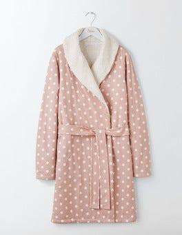Milkshake Mid Spot Cosy Jersey Dressing Gown
