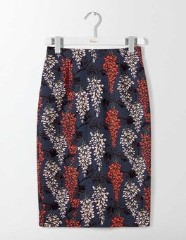 Ink Pot Wisteria Printed Richmond Party Skirt