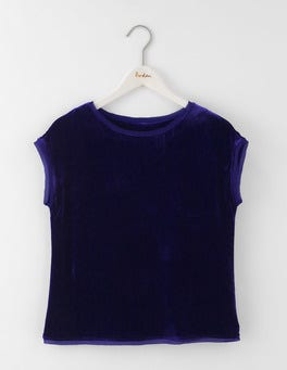 Dark Blue Marcia Top