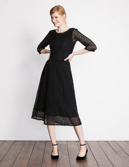 Black Prudence Lace Dress