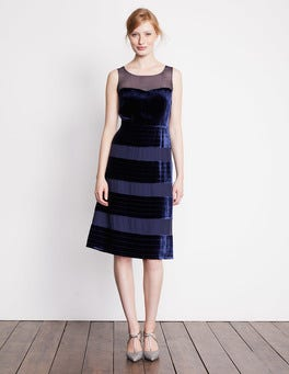 Navy Natasha Dress
