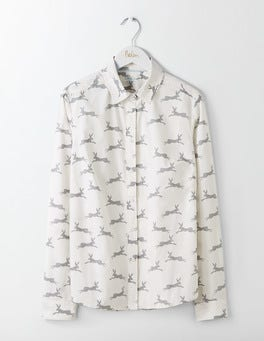 Ivory Woodland Hare The Classic Shirt