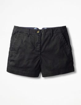 Black Rachel Chino Shorts