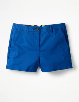 Klein Blue Rachel Chino Shorts