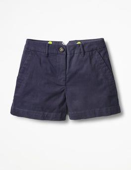 Navy Rachel Chino Shorts