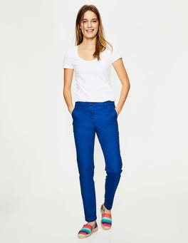 Lupine Blue Rachel Chino Trousers