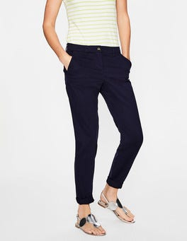Navy Rachel Chino Trousers