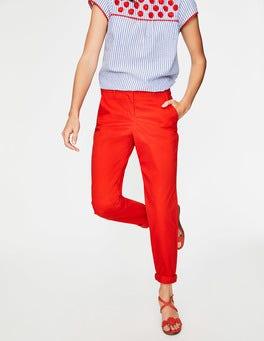 Red Pop Rachel Chino Pants