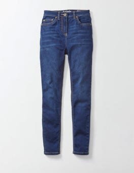 Mid Denim Superstretch Skinny Jeans