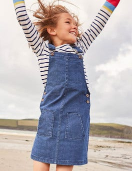 Hetty Dungaree Dress