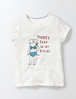 Ivory Bikini Dog Victoria T-Shirt