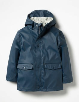 School Navy Waterproof Fisherman's Jacket