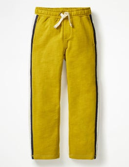 Soft Lime Yellow Sporty Sweatpants