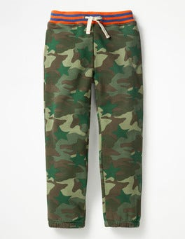 Khaki Camo Star Fun Track Pants