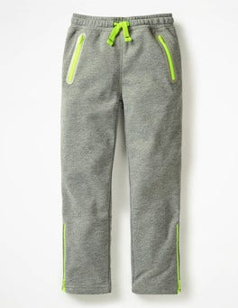 Dark Grey Marl Active Track Pants