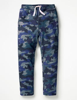 Raft Grey Camo Star Slouch Sweatpants