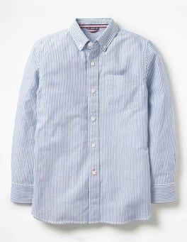 Howlin Blue/Ecru Oxford Shirt