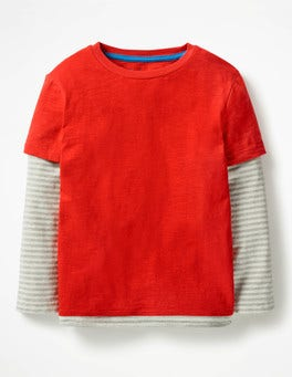Salsa Red Layered T-Shirt