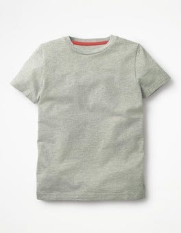 Grey Marl Slub Washed T-shirt