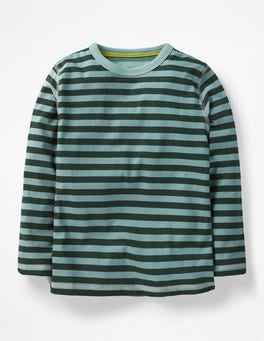 Dophin Blue/Scots Pine Green Supersoft T-shirt