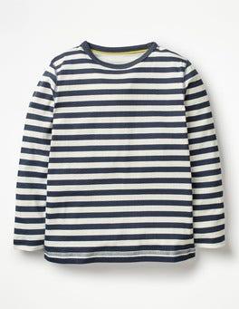 School Navy/Ecru Supersoft T-shirt