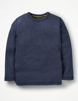 Navy Marl Supersoft T-shirt