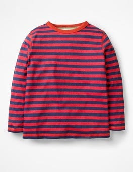 Salsa Red/School Navy Supersoft T-shirt