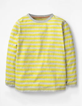 Lime Cordial Yellow/Grey Marl Supersoft T-shirt