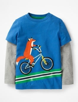 Daphne Blue Fox Active Animals T-shirt