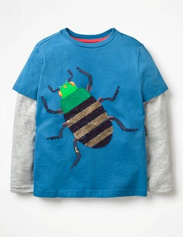 Daphne Blue Bug Creepy Crawly T-shirt