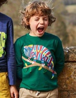Go Wild Appliqué T-shirt
