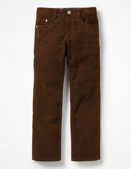 Rustic Tan Slim Cord Jeans