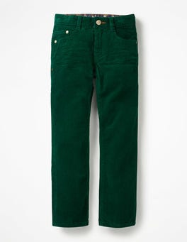 Scots Pine Green Slim Cord Jeans