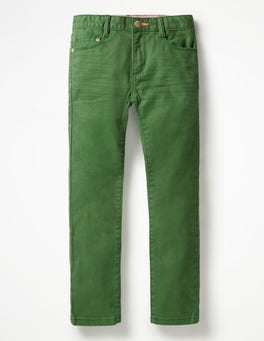 Broccoli Green Coloured Skinny Jeans