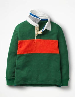 Scots Pine Green Rugby Shirt