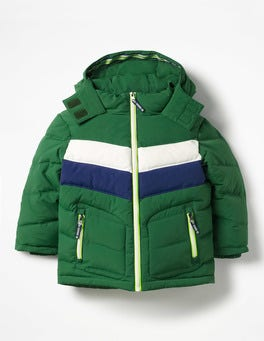 Shamrock Green Padded Jacket