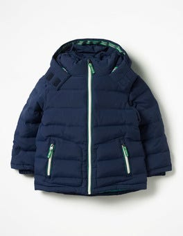 School Navy Padded Jacket