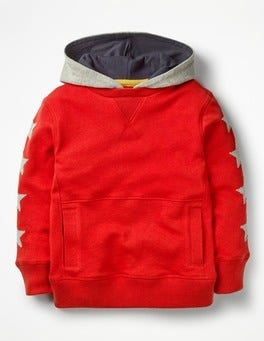 Salsa Red Sporty Hoodie