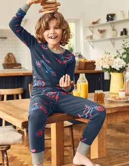 Twin Pack Long John Pyjamas