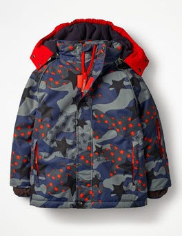 Starboard Blue Starry Camo All-weather Waterproof Jacket