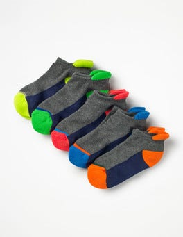 Multi 5 Pack Trainer Socks