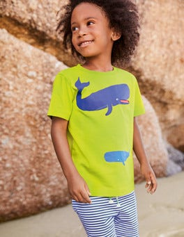Sea Animal Pocket T-shirt