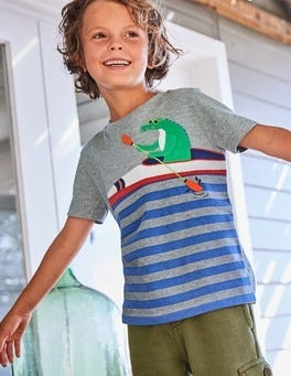 Paddling Pal Appliqué T-shirt