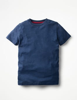 Beacon Blue Slub Washed T-shirt