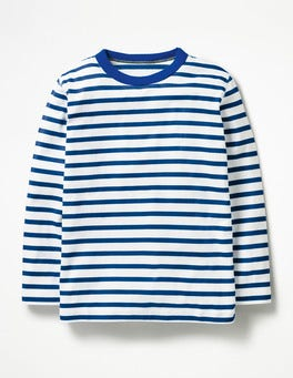 Ecru/Orion Blue Supersoft T-shirt