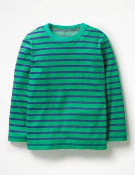 Astro Green/Beacon Blue Supersoft T-shirt